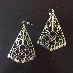 Kendra Scott Samira gold earrings
